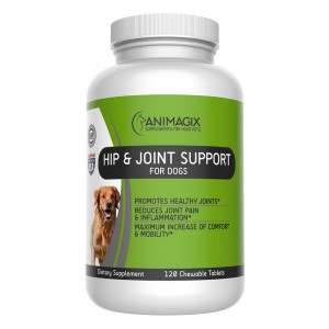 Animagix Glucosamine for Dogs by, Dog Hip and Joint Supplements with 800mg Glucosamine, 400mg Chondroitin, 400mg MSM - Helps for Dog Joint Pain Relief