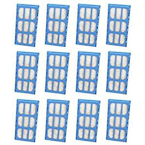Nispira Replacement Water Filter Cartridges for Cat Mate and Dog Mate Fountains, Pack of 12