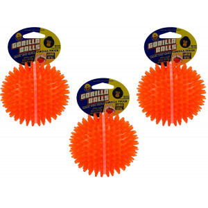(3 Pack) PetSport Gorilla Ball, Large