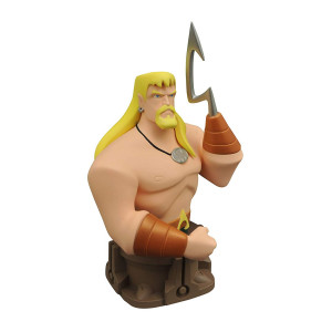 DIAMOND SELECT TOYS Justice League Unlimited Aquaman Animated Resin Bust