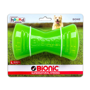 Bionic Bone Durable Tough Fetch and Chew Toy for Dogs