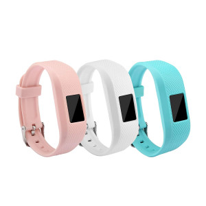 Garmin Vivofit 3 and Vivofit JR Fitness Bands With Secure Watch Clasp , BeneStellar Silicone Replacement Bands for Garmin Vivofit 3 and Vivofit JR[fits 6~8.5 inch wrists]