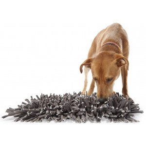 """PAW5: Wooly Snuffle Mat - Feeding Mat for Dogs (12"""" x 18"""") - Feeding Mat - Encourages Natural Foraging Skills - Easy to Fill - Fun to Use Design - Durable and Machine Washable - Perfect for Any Breed"""