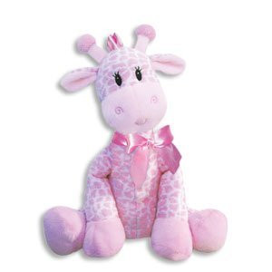 9 Inch Giraffe Rattle for Girl/Baby Rattle/Plush Rattle/Baby Shower Gift/Newborn Gift by First and Main (Original Version)
