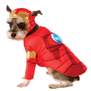 Rubie's Avengers Assemble Deluxe Iron Man Pet Costume