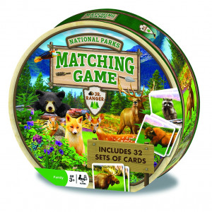 MasterPieces National Parks Matching Game