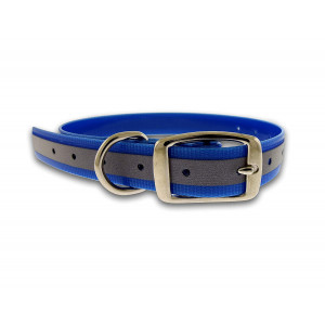 """Jersey Dog Company, 303BL The Perfect Cut to Length Reflective Collar, One Size, 1"""" Wide x 12"""" Adjustable"""