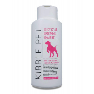 Kibble Pet Grooming Shampoo - Vet Recommended - Human SALON Quality Formulated For A Silky, Hydrated, Healthy Coat :: Pet pH Balanced, Hypoallergenic and Made With Argan Oil, Aloe Vera and Coconut Oil