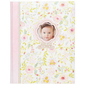 """C.R. Gibson 'Sweet as Can Be' Perfect-Bound Memory Book for Newborns and Babies, 64 Pages, 9"""" W x 11.125"""" H"""