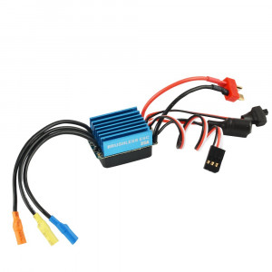 Jrelecs 35A Brushless ESC Electric Speed Controller with 5V/2A BEC for 1/12 1/14 1/16 RC Car