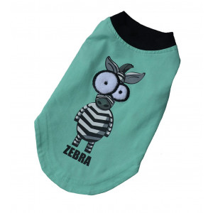 PUPWE Dog Shirts for Small Dogs Summer - Pet Clothes Dog Cat Tees 100% Cotton and Cartoon Style