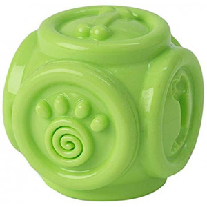 PetRageous 14001 Wacky Bouncer Small Lime Green Pet Squeaky Toy