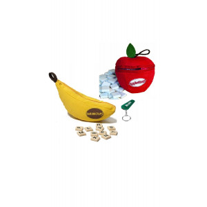 Bananagrams and Appleletters Bundle Including Blizy Keychain