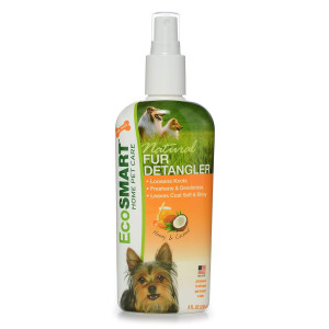 EcoSMART Natural Fur Detangler, Honey Coconut Scent