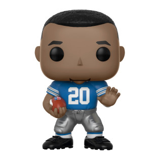 Funko POP NFL: Barry Sanders (Lions Home) Collectible Figure