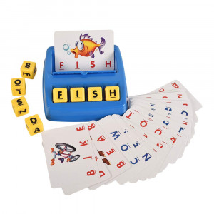 BOHS Matching Letter Dices and Cards - English Learning Game for Preschoolers ...