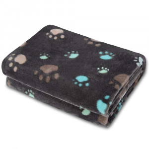 Allisandro Super Soft and Fluffy Dog Cat Puppy Blanket,Total 4 Sizes for Small Medium Large Pet