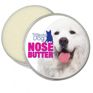 The Blissful Dog Great Pyrenees Unscented Nose Butter