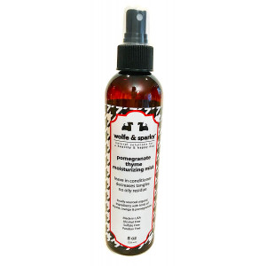 Wolfe and Sparky NEW!! NATURAL and ORGANIC LEAVE-IN CONDITIONING MIST Pomegranate Thyme Moisturizing Mist (8 oz)
