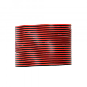 UTUO Silicone Electronic Wire [30ft Total, 15 ft Red and 15ft Black] 28 Gauge Flexible Temper Silicone Rubber Insulator, Oxidation Resistant Tinned Copper Cores