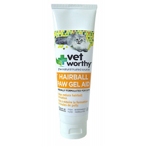 Vet Worthy Hairball Paw Gel Aid for Cats