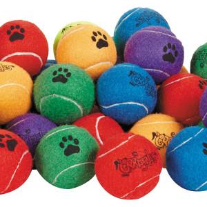 """Grriggles 60 Piece Tennis Ball 2.5"""" Bulk Bags"""