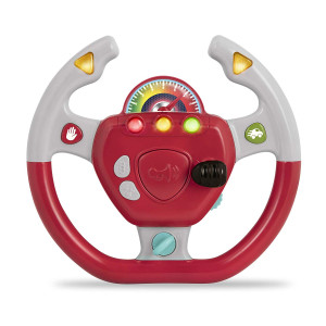 Battat  Geared to Steer Interactive Driving Wheel  Portable Pretend Play Toy Steering Wheel for Kids 2 years +