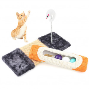 Petacc Tracks Cat Toy Cute Speed Circuit Durable Senses Circuit Practical Cat Orbital Toys
