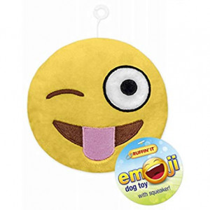Westminster Pet Products 16307 Emoji Plush Dog Toy