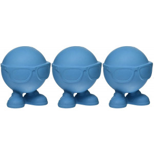 JW (3 Pack) Hipster Cuz Assistant Toy, Small, Assorted Colors