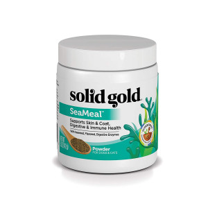 Solid Gold SeaMeal Kelp-Based Supplement for Skin and Coat, Digestive and Immune Health in Dogs and Cats; Natural, Holistic Grain-Free Supplement