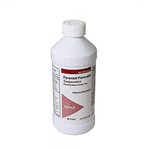 Apexa Pyrantel Pamoate Suspension, 50mg / mL, 16 Ounce