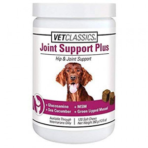 VET CLASSICS Canine Joint Support Plus Soft Chews (120 Soft Chews))