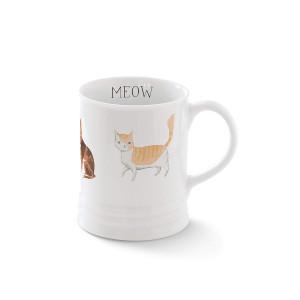 FRINGE STUDIO Js Kitty Cat Georgia Mug, 12 liquid ounces (481479)