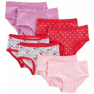 Simple Joys by Carter's Little Kid and Toddler Girls' 8-Pack Underwear