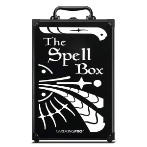 Game Card Storage Case (PRO/MTG Edition)   Suitable for Magic The Gathering, Yugioh, and Other TCG Etc (Game Not Included)   Includes 8 Dividers   Fits up to 2000 Loose Unsleeved Cards