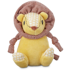 Leaps and Bounds Wildlife Plush Lion Dog Toy