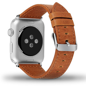 for Apple Watch Band (Brown, 42mm)
