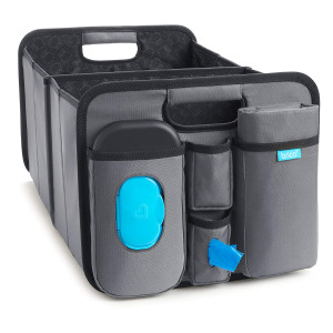 Brica Out-N-About Collapsible Trunk Organizer and Diaper Changing Station