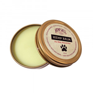 Hemp Balm - Relief and Protection for Dogs and Cat Nose, Skin and Paws from Dryness, Chapping, Cracks and Cold Damage [1.75 Oz].