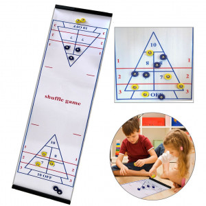 Happy Gift Best Gift for Kids, Tabletop Curling Toys,Kids Game for Families, Adults vs Kids in This Fun Family Game.