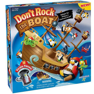 Don't Rock The Boat Skill and Action Balancing Game