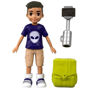Polly Pocket Active Pose Doll, Nicholas
