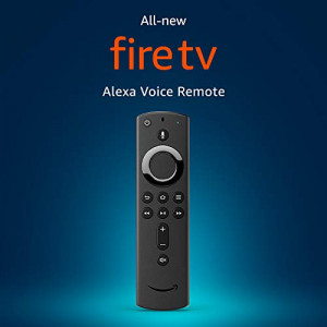 All-new Alexa Voice Remote with power and volume controls  requires compatible Fire TV device