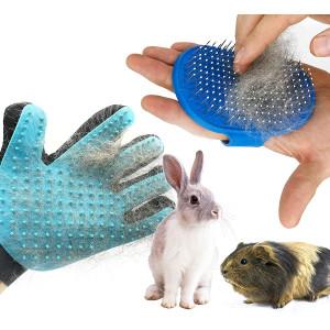 Dasksha Rabbit Grooming Kit with Rabbit Grooming Brush - Rabbit Hair Brush and Rabbit Hair Remover- Bunny and Guinea Pig
