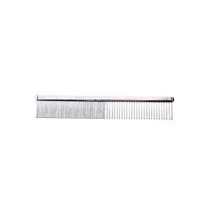 """ShearsDirect Pawprint Heart 5"""" Comb with Med/Fine Coarse Teeth"""