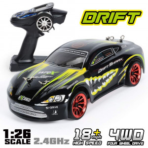 GPTOYS Rc Cars 18km/h 360Rotation Stunt High Speed Remote Control Drift Car 1:26 2.4Ghz 4WD S918 for Kids and Adults