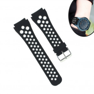 Gear S3 Frontier/Classic Watch Band, Uwatchband 22mm Soft Silicone Breathable Bands Replacement Strap for Gear S3 Frontier and Gear s3 Classic Smart Watch