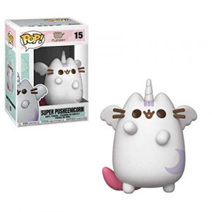 Funko Pop Animation: Pusheen - Super Pusheenicorn Collectible Figure, Multicolor