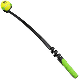 Franklin Pet Supply Dog Fetch Toy  Tennis Ball Launcher  Play Fetch with Your Dog  Dog Ball Launcher